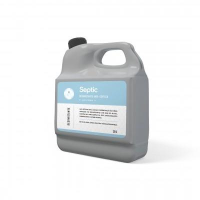 SEPTIC - Gel Desinfectante anti-séptico para mãos > 70% (v/v) (1Litro)