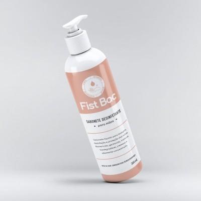 Fist Bac - Produto de lavagem de mãos germicida, bactericida, inodoro (DOSEADOR 300ml)