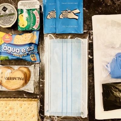 Kit Isolamento COVID (Alimentos e EPIs)