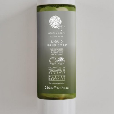 Sabonete Líquido GENEVA GREEN - Recarga 360ml (100% material reciclado)