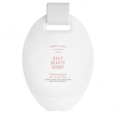 Sabão Líquido GUEST LOVE POP - 3 em 1 para mãos, corpo & cabelo, em frasco oval 380ml