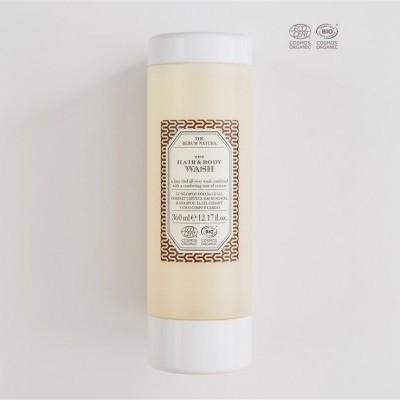 Gel de Banho & Champô THE RERUM NATURA - Recarga 360ml (Certificado Orgânico)