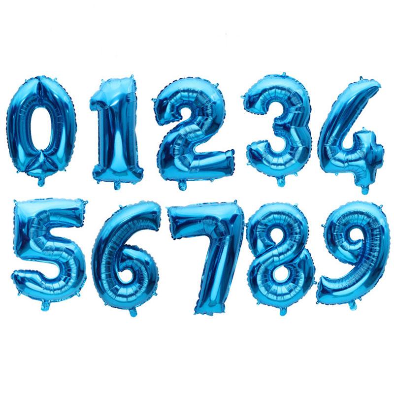 "Números 34"" azul"