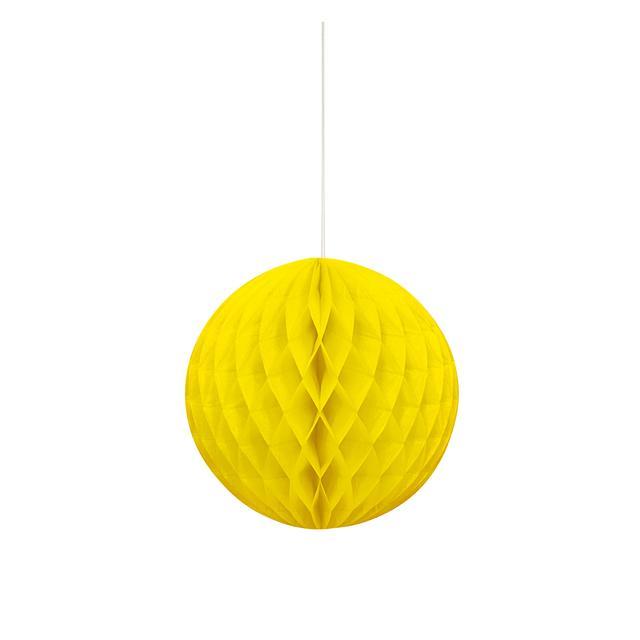 1x Bola de papel Amarelo