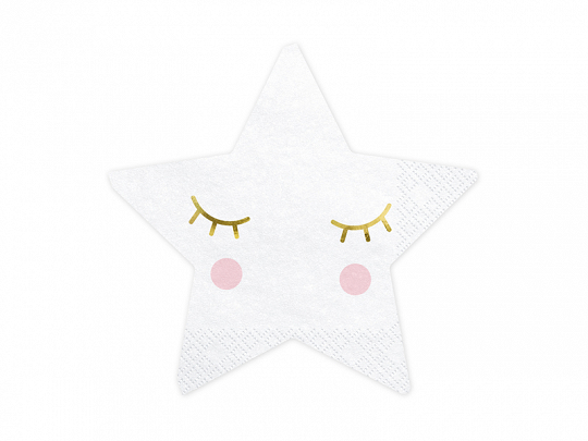 20 Guardanapos little star