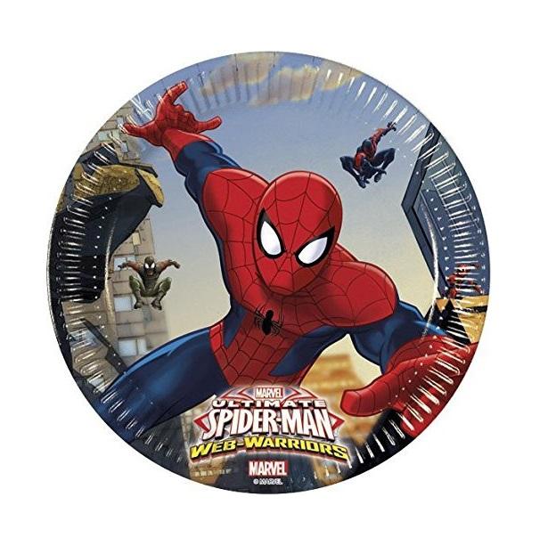 8 Pratos homem aranha