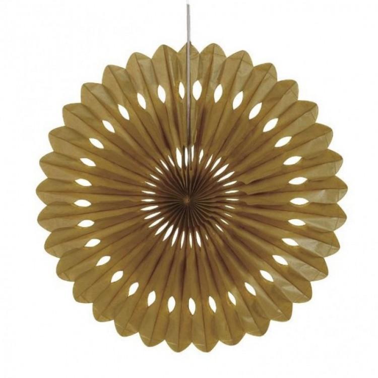 Roseta ouro 40cm