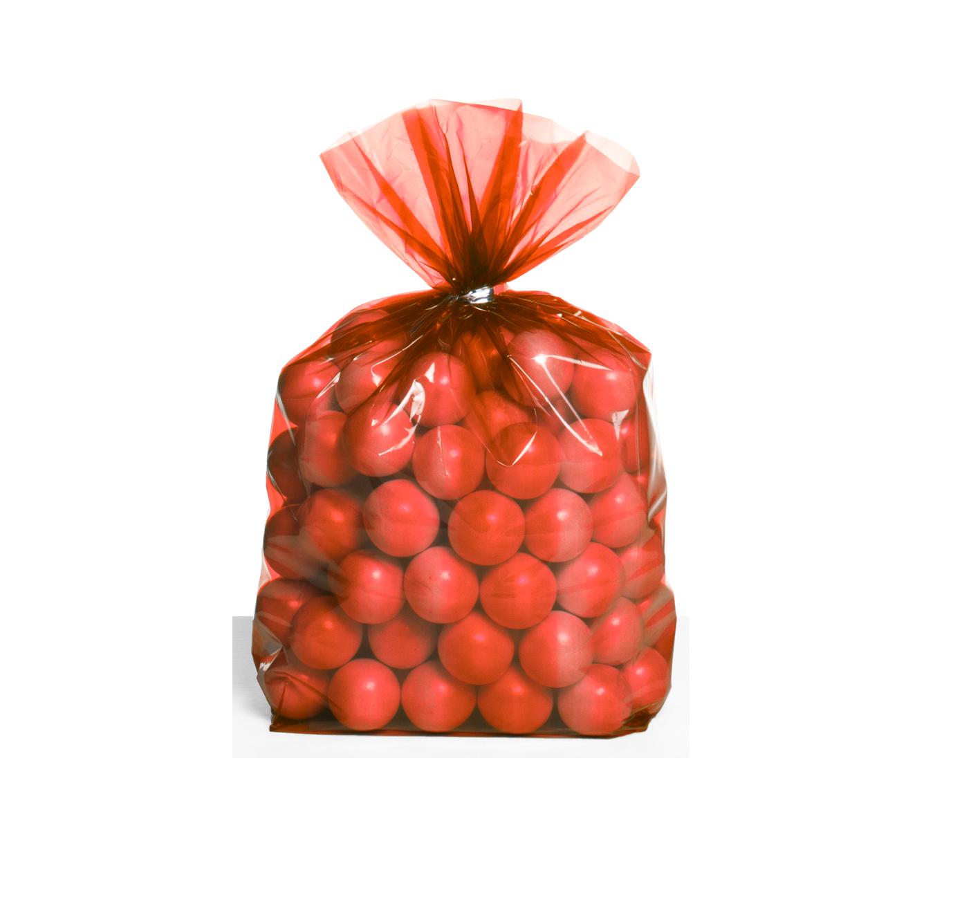 30 Sacos de brinde vermelho