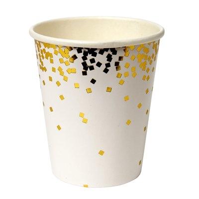 Copos gold confetti