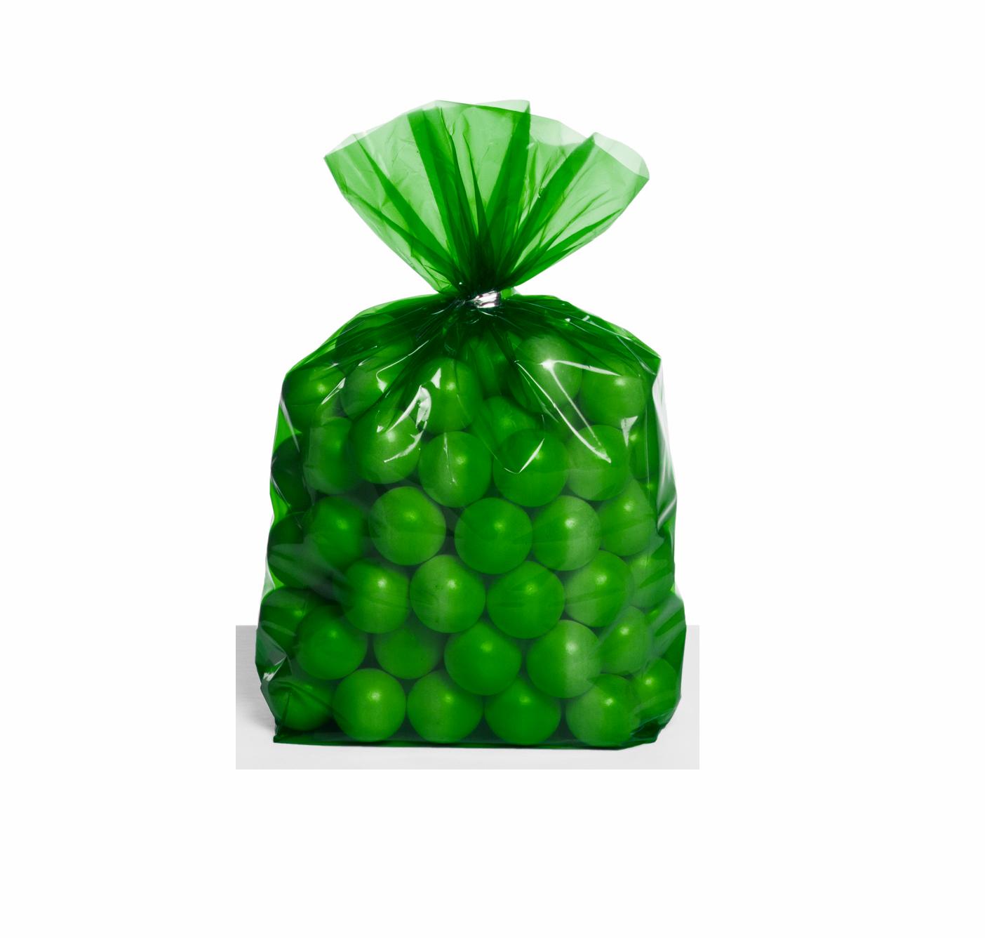 30 Sacos de brinde verde floresta