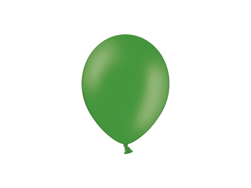 Mini Balão latex 12cm Verde floresta