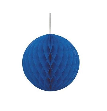 1x Bola de papel Azul escuro