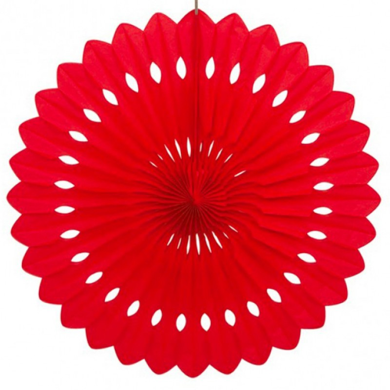 Roseta vermelho 40cm