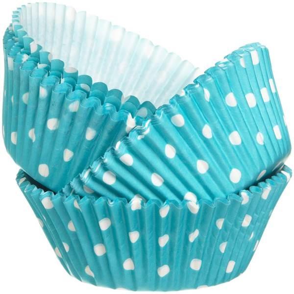 Formas cupcake Azul Menta x75