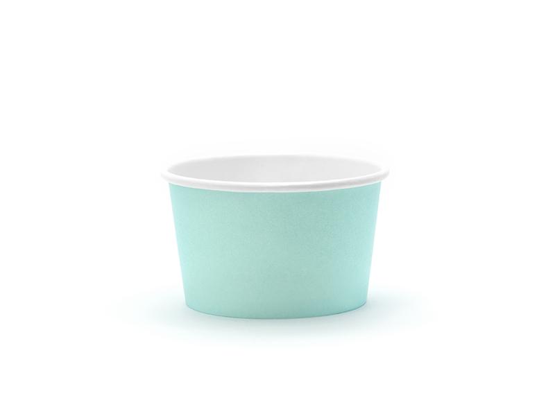 6 Copos de gelado menta