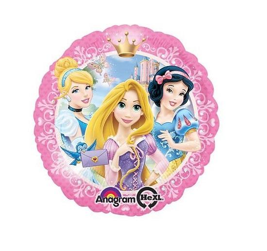Balão foil princesas