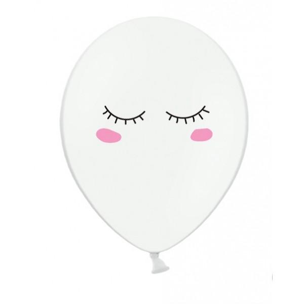 Balão latex pestanas