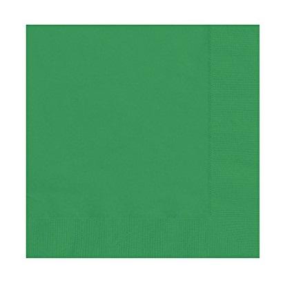 20 Guardanapos verde floresta