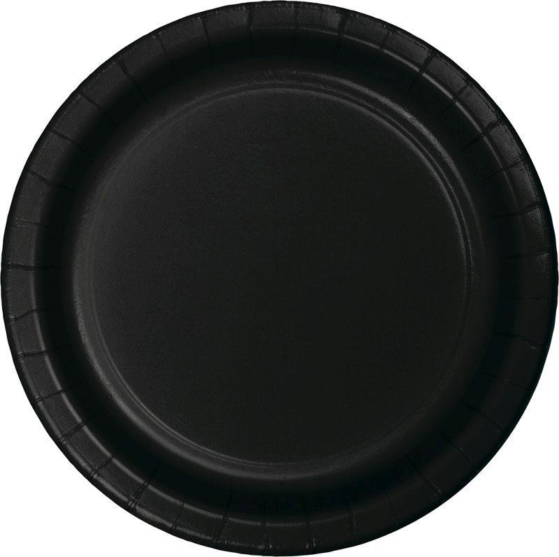 16 Pratos pretos 23cm