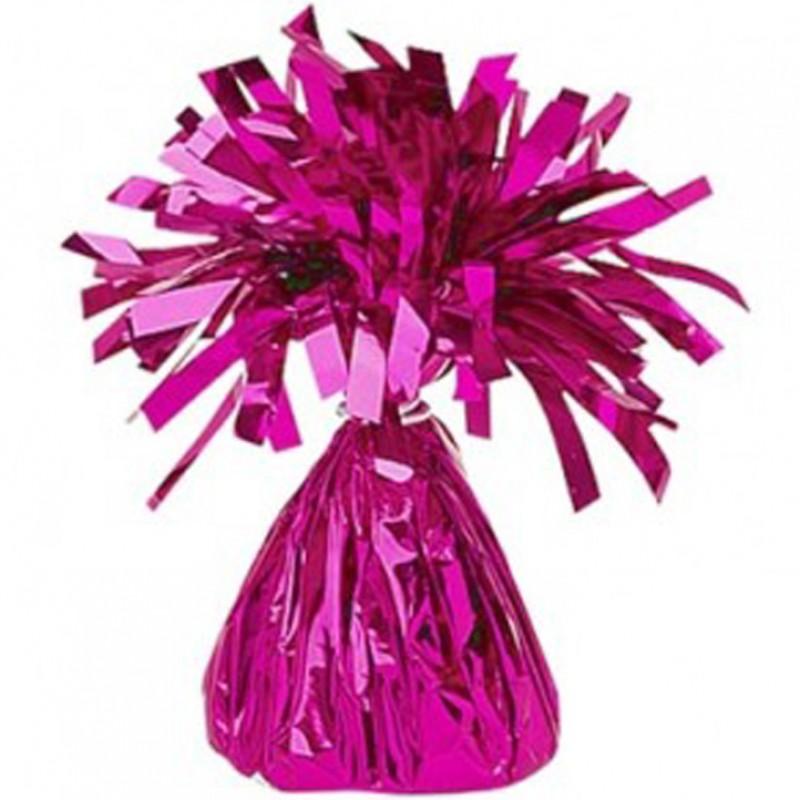 Peso para balões rosa fushia