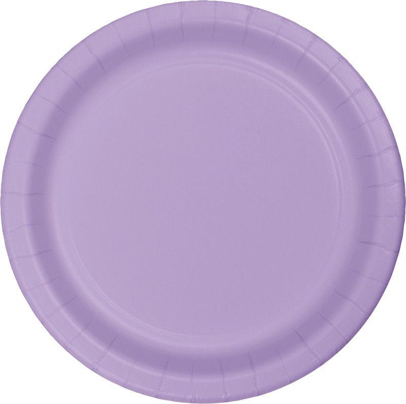 8 Pratos lilás