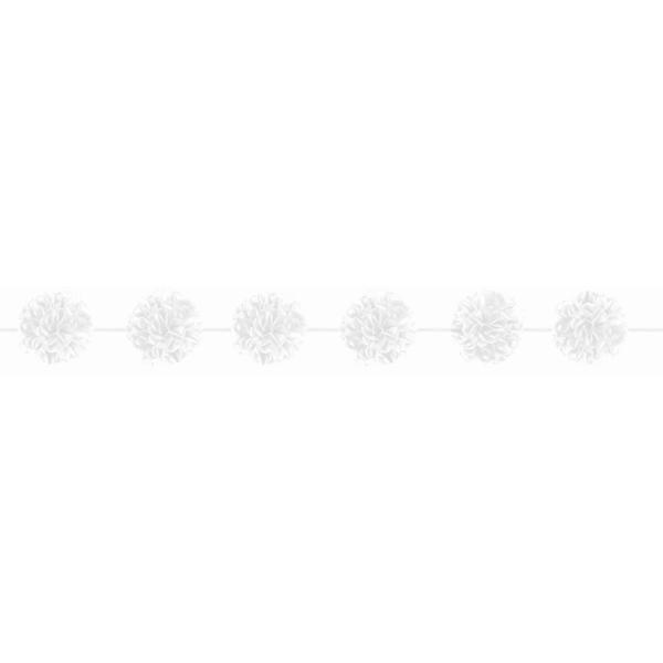 Grinalda de pompons