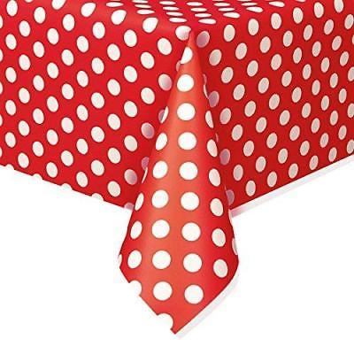 Toalha de mesa bolas vermelho