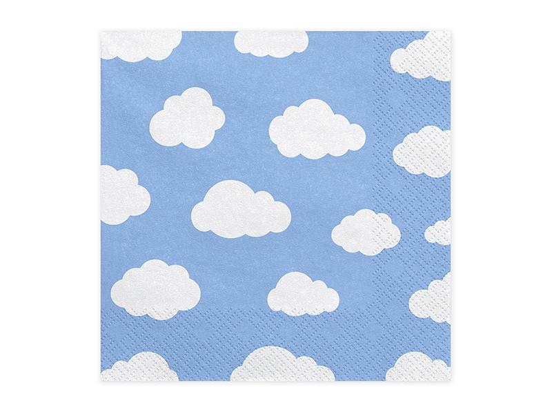 20 Guardanapos nuvens
