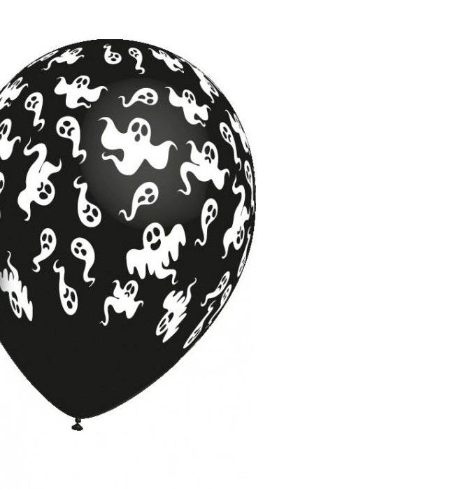 Balão latex fantasmas