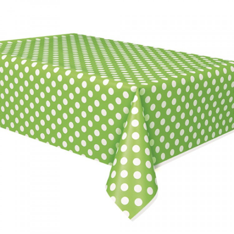 Toalha bolas verde lima