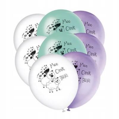 8 balões animais da quinta