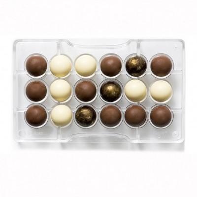 Molde Chocolate esferas