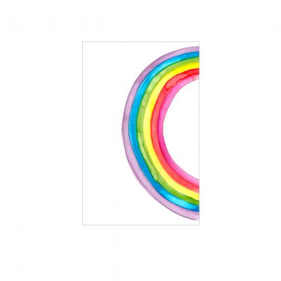 Postal Arco Iris