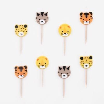 6 Velas felinos