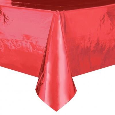 Toalha foil vermelha