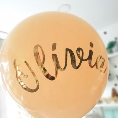 Letras para balão personalizadas