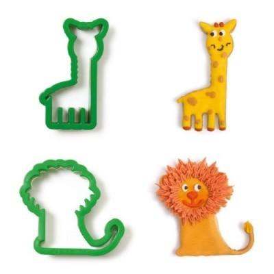 Kit cortadores animais da selva