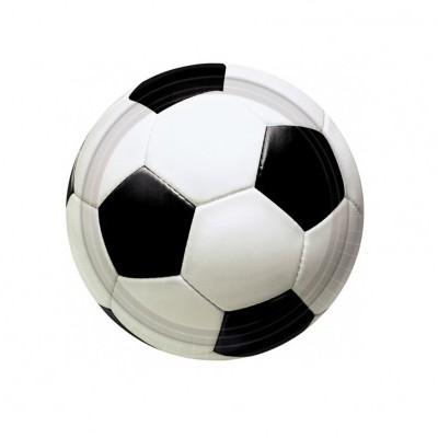Pratos bola de futebol