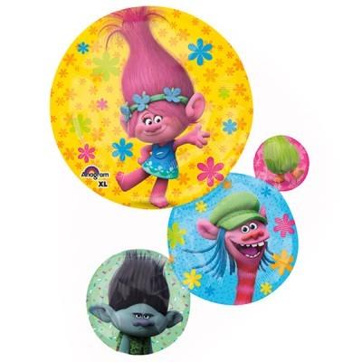 Balão foil trolls