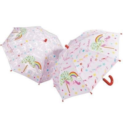 Chapéu de chuva MÁGICO unicórnios