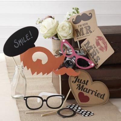 Kit Photobooth Mr & Mrs