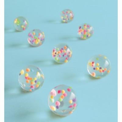 Bolinhas saltitonas confettis
