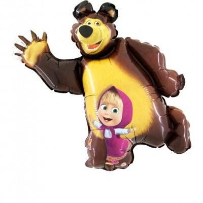 Balão super shape masha e o urso