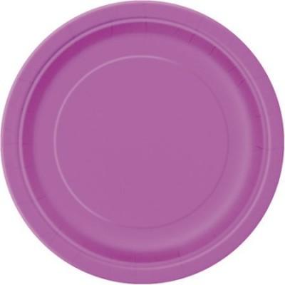 16 pratos roxo 23cm