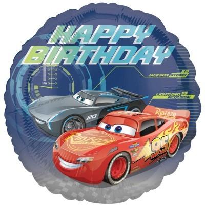 Balão foil Cars
