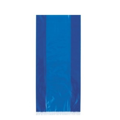 30 Sacos de brinde azul cobalto