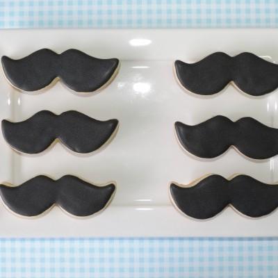 Cortador de bolachas bigode