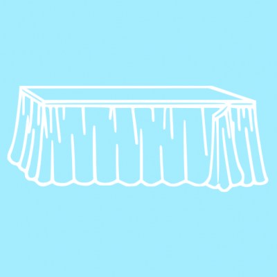 Saias de mesa