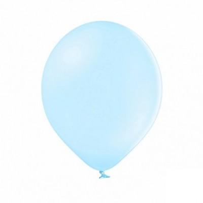 Balão latex 30cm  Azul bebé