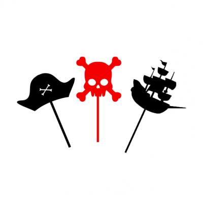 10 Topos Cupcake Piratas